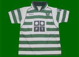 Sporting Lisbon Portugal 2001 2002 Cristiano Ronaldo shirt