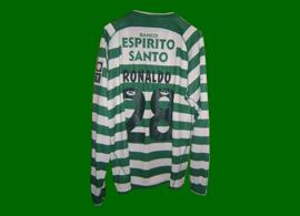 camisola do Sporting Cristiano Ronaldo