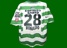 Trikot Cristiano Ronaldo sporting Lissabon portugal 2000 2001