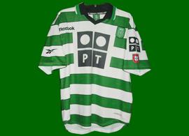 Maillot sporting clube de portugal 2000 2001