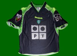 Sporting camisola alternativa 01 02 personalizada Cristiano Ronaldo