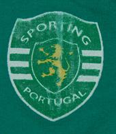 top criança jovem camisa de alças Sporting Lisboa Portugal
