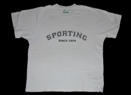 Sporting roupa casual t-shirt 2007