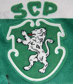 1996/97. Saillev, assinada pela equipa do Sporting que jogou em newcastle 7 de Abril de 2005