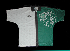 camisola do SCP Sporting Saillev 1994 1995 Stromp