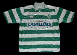 shirt Sporting Saillev 1994 1995