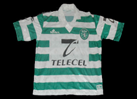 Camisola de marca Saillev do Sporting