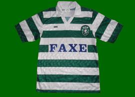 camisola do Sporting Saillev de criança patrocinio FAXE