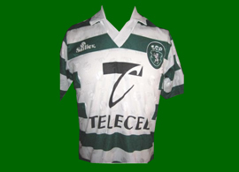 Camisola antiga da marca Saillev do Sporting