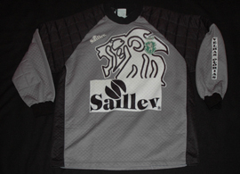 Second half of the 1990s. Goalkeeper XXL jersey of the Old Glories team of Sporting Lisbon. Made by Saillev