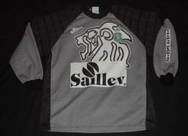 Equipamento XXL de guarda-redes da equipa das velhas glórias do Sporting. Feita pela Saillev.