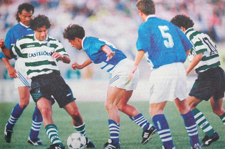 Sporting-Belenenses, 2ª jornada campeonato 27 de Agosto de 1994