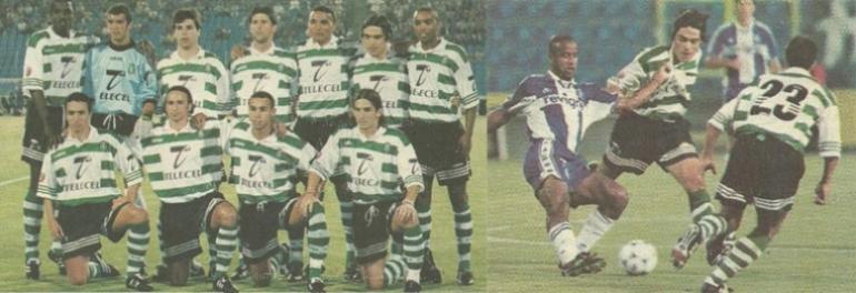 pré-época 98/99, jogo particular contra o Porto a 30 de Julho de 1998