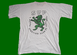 t-shirt do Sporting Club de Portugal leao verde