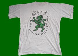 t-shirt do Sporting Club de Portugal leao verde