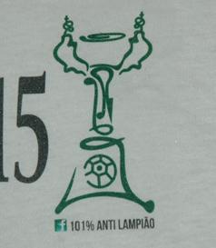 2015. T-shirt da Taça de Portugal 101% Anti Lampiões