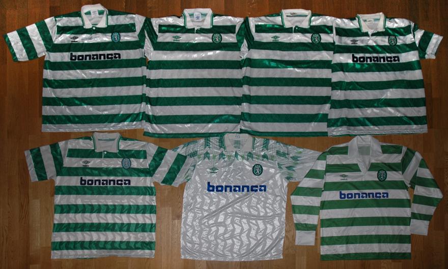 7 camisolas Umbro do Sporting