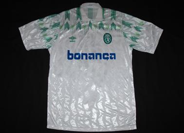 Umbro de jogo Sporting 1990 1991