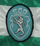 Equipamento do Sporting do Luizinho 1991 1992 simbolo