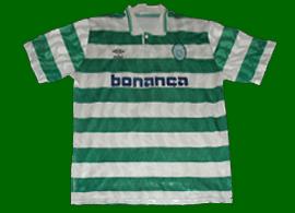 Equipamento do Sporting do Luizinho 1991 1992