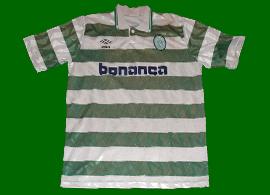 equipamento Sporting umbro 1990 1992