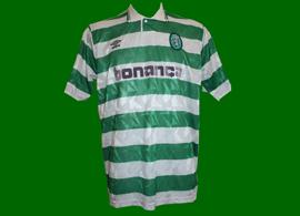 Jersey worn in match Venancio Sporting Lisbon 1991