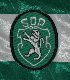 1991. Equipamento Umbro de jogo do Sporting