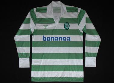 Umbro de jogo Sporting 1990 1991 Venancio