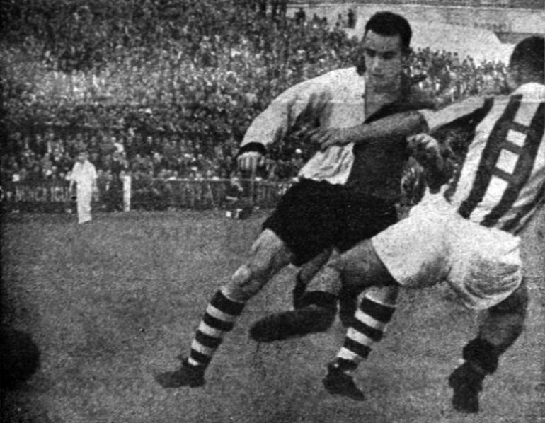 Sporting-V.Setúbal, 29 de Outubro de 1950