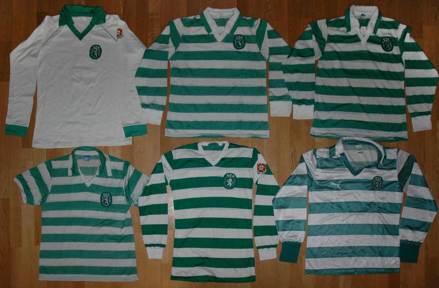 As primeiras marcas que equiparam o Sporting: Cosmos e Puma
