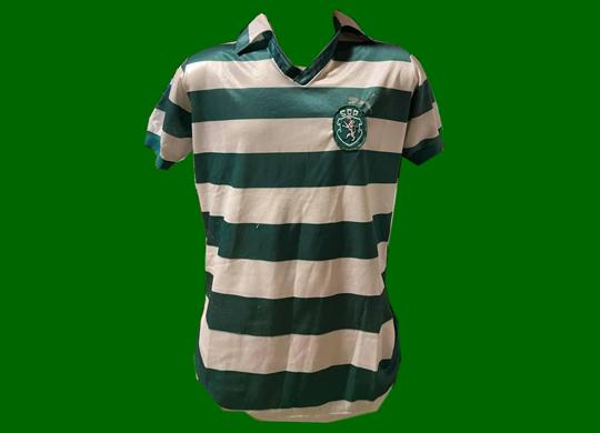 Camisola Puma de jogo Sporting 1981/82