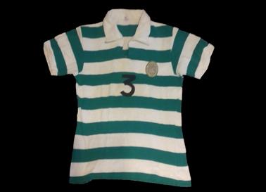 Anos 1960. Camisola da formação do Andebol do Sporting
