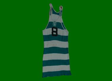 1968. Equipamento de basquetebol de Carlos Sousa, juniores