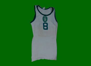 1968. Equipamento alternativo de basquetebol de Carlos Sousa, juniores