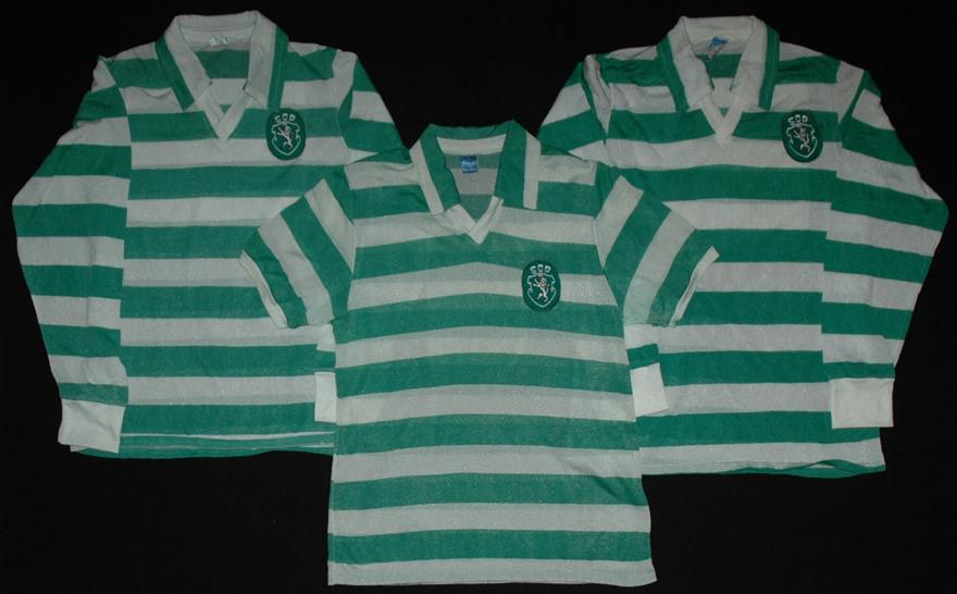 Tres camisolas Cosmos de 1981, Sporting