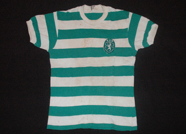 Shirt worn by Da Costa against Atletico Mineiro 18 August 1977