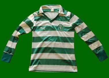 Puma de jogo Sporting 1981/82