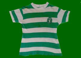 Portugal Sporting Lisbon match worn shirt