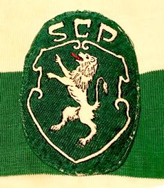 Camisola de jogo dos juniores, de Luís Vasques, Sporting 1973