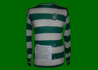 camisola de jogo do Osvaldo Silva