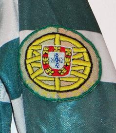 Puma shirt, match worn by Manoel Puma 1980