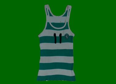 1979/80. Equipamento listado de basquetebol do Sporting de Rui Pinheiro