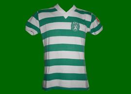 1974 1975 1980 1981 Sporting Portugal maillot porté en jeu