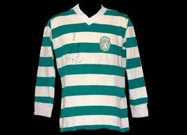 Sporting Portugal 75 76 maillot de jeu porte