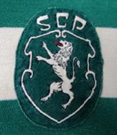 camisa de jogo Sporting Lisboa 1977 78 79 80