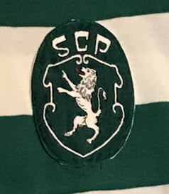 Sporting Lisbon shirt match worn shirt 1977 1980