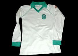 equipamento Sporting 1980 1981 Bastos