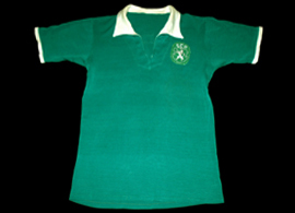 Sporting match worn away shirt lpayer Bastos 1968 1969