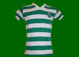 MWS Inacio home shirt match worn club Sporting