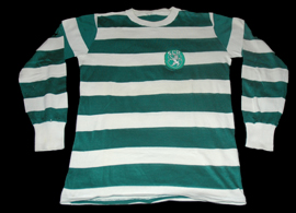 camisola do Sporting antiga anos 1970 réplica